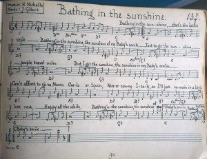 137bathinginthesunshine1931