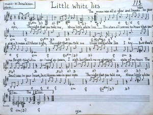 Little White Lies (1930)